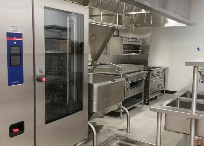 commercial kitchen design including project management